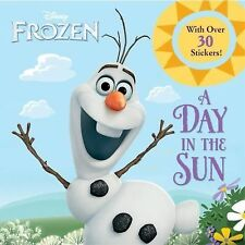 A DAY IN THE SUN Disney's FROZEN picture book Frank Berrios (2014) NEW childrens