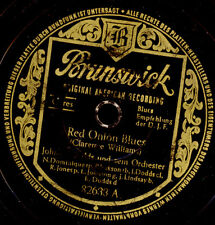 JOHNNY DODDS & ORCH. Red Onnion Blues / Gravier Street Blues    78rpm  X2833