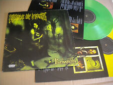CRADLE OF FILTH THORNOGRAPHY  2006 ROADRUNNER 2 LP GATEFOLD VINYL GREEN YELLOW