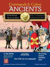 Commands & Colors: Ancients - Expansions 2 & 3, New by GMT, English Edition