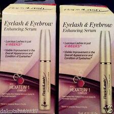 "RapidLash Eyelash & Eyebrow Enhancing Serum  ""Pack of 2""  each  3 mL / 0.1 oz."