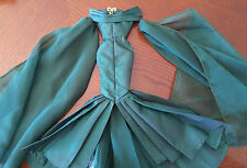 BARBIE EMERALD TAFFETA GOWN - 'EMPRESS OF EMERALDS' - VERY BEAUTIFUL