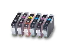 6PK New Ink For Canon CLI8 CLI-8 BK/C/M/Y/PC/PM Pixma MP950 960 970 700 790 900