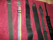 Guitar Straps 6 of them