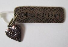 x Follow Your Heart SIMPLY TAGS N CHARMS double Charm Pendant Ganz