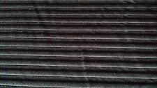 BLACK MESH WITH COTTON STRIPE STRETCH FABRIC 146CM WIDE, CLOTHING, DANCE ETC