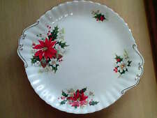 Superb Royal Albert Bone China 'Yuletide' Bread & Butter/Cake Plate