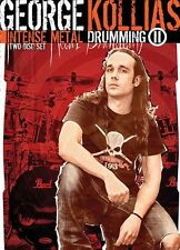George Kollias Intense Metal Drumming II Learn to Play DRUMS Music LESSON DVD