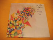 Cardsleeve Single CD SARAH BLASKO We Won't Run PROMO 1TR 2010 pop rock