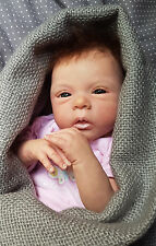 **ANGELCREATIONS** LELOU  by Evelina Wosnjuk Reborn Baby Girl