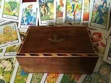 Howard Rodway Arts and Crafts Style Tarot Cards In Attractive Inlaid Wooden Box