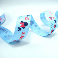 Free Shipping 5Yards 5/8 16mm printed Disney grosgrain ribbon GD031