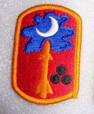 ARMY PATCH, 678TH AIR DEFENSE ARTILLERY BRIGADE, SOUTH CAROLINA ARNG