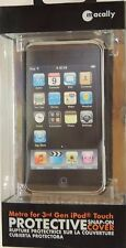 MACALLY METRO PROTECTIVE SNAP ON COVER 3RD 3 GEN IPOD TOUCH NEW