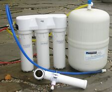 Flexcon Reverse Osmosis Water Filtration Carbon Membrane Tanks Aqua System  Sink