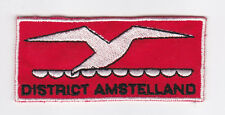 SCOUTS OF HOLLAND - NEDERLAND / DUTCH SCOUT AMSTELLAND DISTRICT PATCH ~ EXTINCT