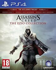 ASSASSIN'S CREED THE EZIO COLLECTION PS4 PAL NEW SEALED IMPORT COPY