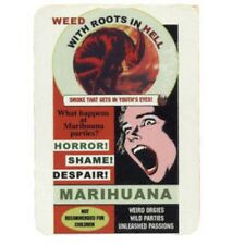 FUN - With Roots In Hell Marihuana - Aufkleber Sticker - Neu #253 - Funartikel