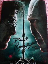 Harry Potter Daniel Radcliffe Original Hand Signed Photo 12x8 With COA