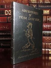 Easton Press Tom Sawyer Illustrated Norman Rockwell Sealed Rare Special Edition