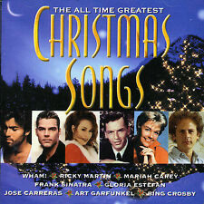 All Time Greatest Christmas Songs by Various Artists (CD, Dec-1999, Sony)