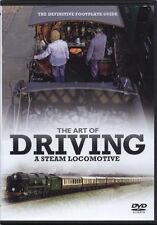 Clive Groome The Art of Driving A Steam Locomotive (New DVD) Engines Trains Rail