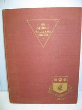 1942 Annual, Sir George Williams College, Montreal, Canada Yearbook