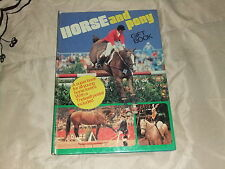 HORSE AND PONY GIFT BOOK 1977  HARDCOVER  PRINCESS ANNE HARVEY SMITH