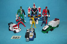 POWER RANGERS SPD SELECTION OF FIGURES - MEGAZORDS - PARTS