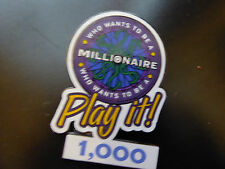 Disney Trading Pins  4596 Who Wants to Be a Millionaire: Play it! Set (1000 Poin