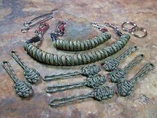 2 Multicam Paracord Lanyards 8 Zips -for- Condor Tactical Tailor LBT Tad 5.11