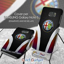 COVER PER SAMSUNG GALAXY NOTE V NOTE 5 SM-N920i STAMPA PIENA TIPO ALFA ROMEO