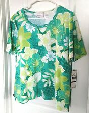 Alfred Dunner Women's Top size XL Short Sleeve New with Tags H5