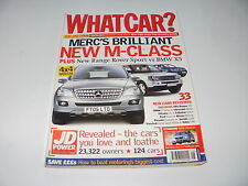 WHAT CAR ?   MAGAZINE  JUNE   2005       ENGLISH MONTHLY