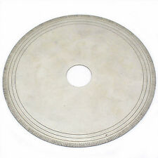 "6"" inch Notched Rim 0.7mm Lapidary Diamond Rock Saw Blade w Bushing 5/8"" 1/2"""