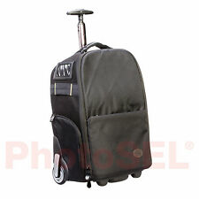 PhotoSEL BG501 Roller Camera Bag for SLR DSLR Lens Laptop 15 inch