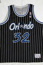 VINTAGE CHAMPION ORLANDO MAGIC 1994 #32 SHAQ O'NEAL NBA BASKETBALL JERSEY:LARGE