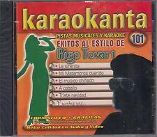 Rigo Tovar Exitos Al estilo Pistas Musicales & Karaoke New Nuevo Sealed
