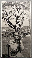 Document photo LAOS JOUEUR D ORGUE A BOUCHE KHEN    clipping