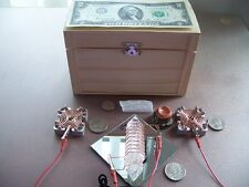 WISH MACHINE RADIONICS WISH BOX w/t ORGONE Generator Amplifier - Manifest Wishes