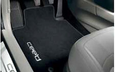 NEW GENUINE KIA CEE'D CEED 2012 on VELOUR CARPET MATS SET of 4 -FRONT & REARS