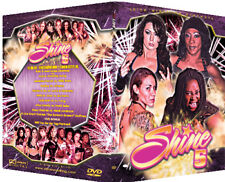 Official Shine Volume 5 Female Wrestling DVD