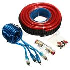 4 Gauge 2800W Power Wire Wring Connector Car Complete Amplifier Installation Kit