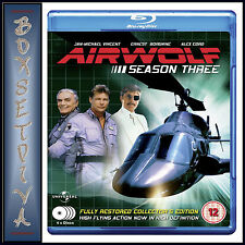 AIRWOLF - COMPLETE SEASON 3 ***BRAND NEW BLU-RAY **