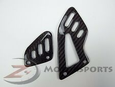 2009-2016 RSV4 RSV 4 Rearset Foot Peg Mount Heel Guard Plates Carbon Fiber