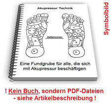 Akupressur Technik - Druck Massage Geräte Patente Patentschriften
