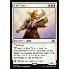 SUN TITAN NM mtg Commander 2015 White - Creature Giant Mythic
