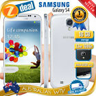 SAMSUNG GALAXY S4 I9500 I9505 100% UNLOCKED PHONE WHITE AUS WTY (SEALED BOX)