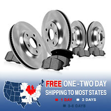 Front 350 mm and Rear 330 mm Brake Rotors & Metallic Pads Set CAYENNE TOUAREG Q7