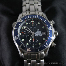 OMEGA SEAMASTER PROFESSIONAL AUTOMATIC BLUE DIAL STAINLESS STEEL WATCH